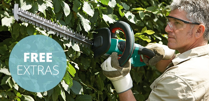 Bosch AHS 54-20 LI Cordless Hedge Cutter