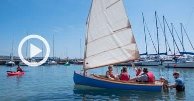 Meet The Maker - Lyme Regis Boat Building Academy