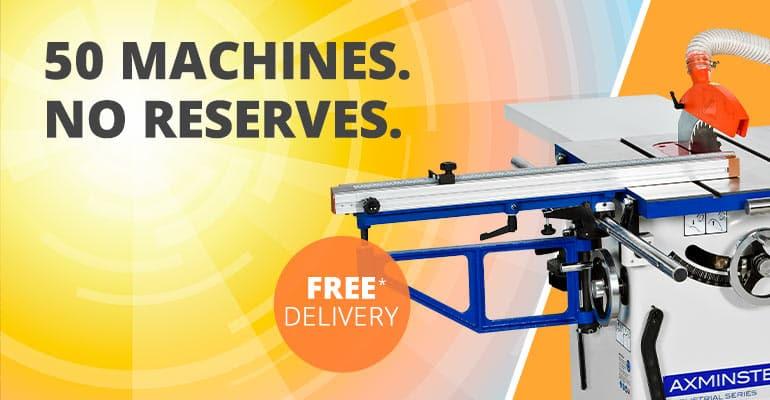 50 machines. No reserves