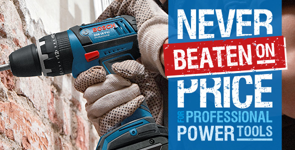 Never Beaten On Price For Professional Power Tools