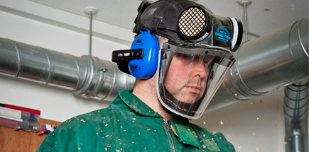 Ear Defenders for Evolution Respirator
