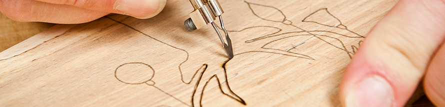 Book your Pyrography Course today
