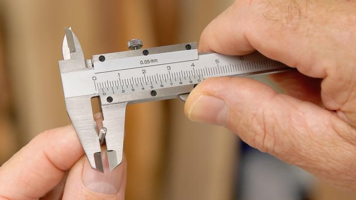 Axminster 100mm Pocket Vernier Caliper