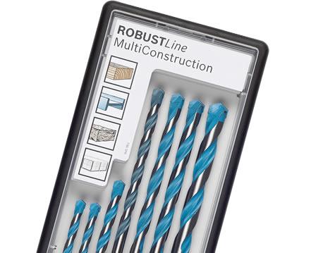 Bosch 7 Piece Multi-Construction Drill Bit Set