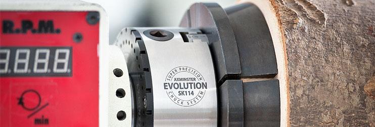Axminster Evolution Super Precision Chuck System