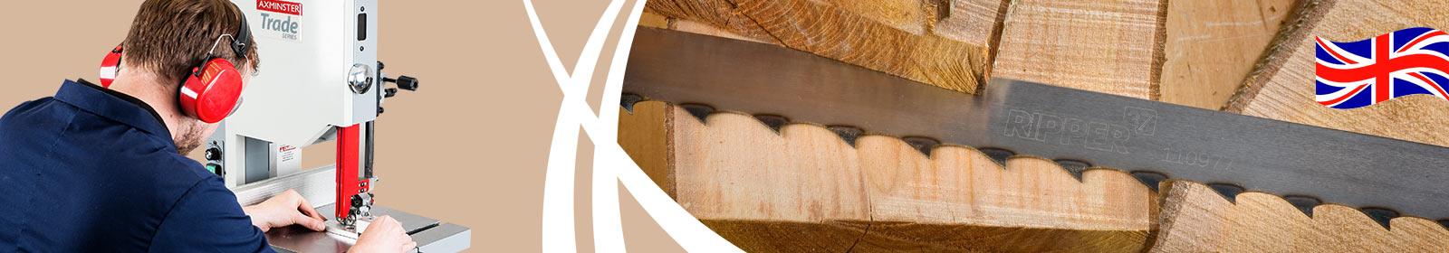 Axcaliber Bandsaw Blades - UK made