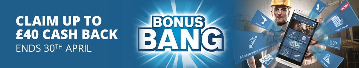Bosch Bonus Bang... earn up to £40 cash back. Offer ends 30th April 2018.