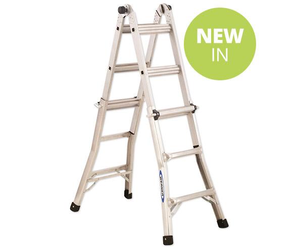 Werner Telescopic Combination Ladder