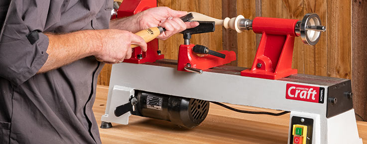 Woodturning with a Craft lathe