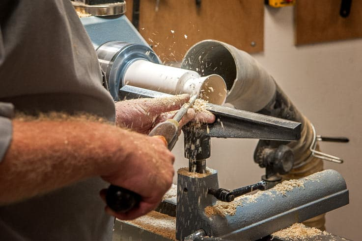 Beginners woodturning