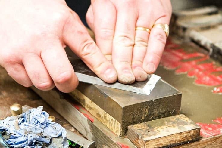 Tool sharpening